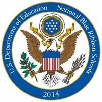 2014, blue, department, education, national, of, ribbon, school, us